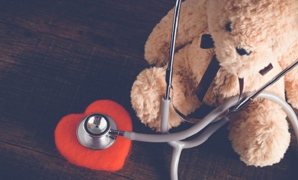 Bear with a stethoscope